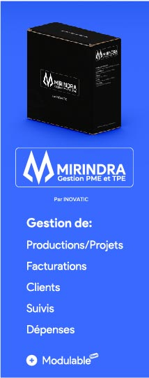Gestion de production, Facturation, Clients, Suivis, Dépenses, Modulable